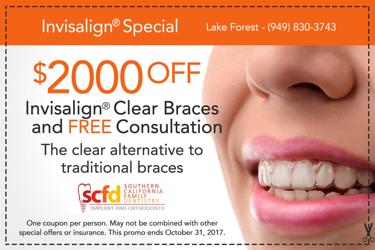 Southern California Family Dentistry - Invisalign Special Offer