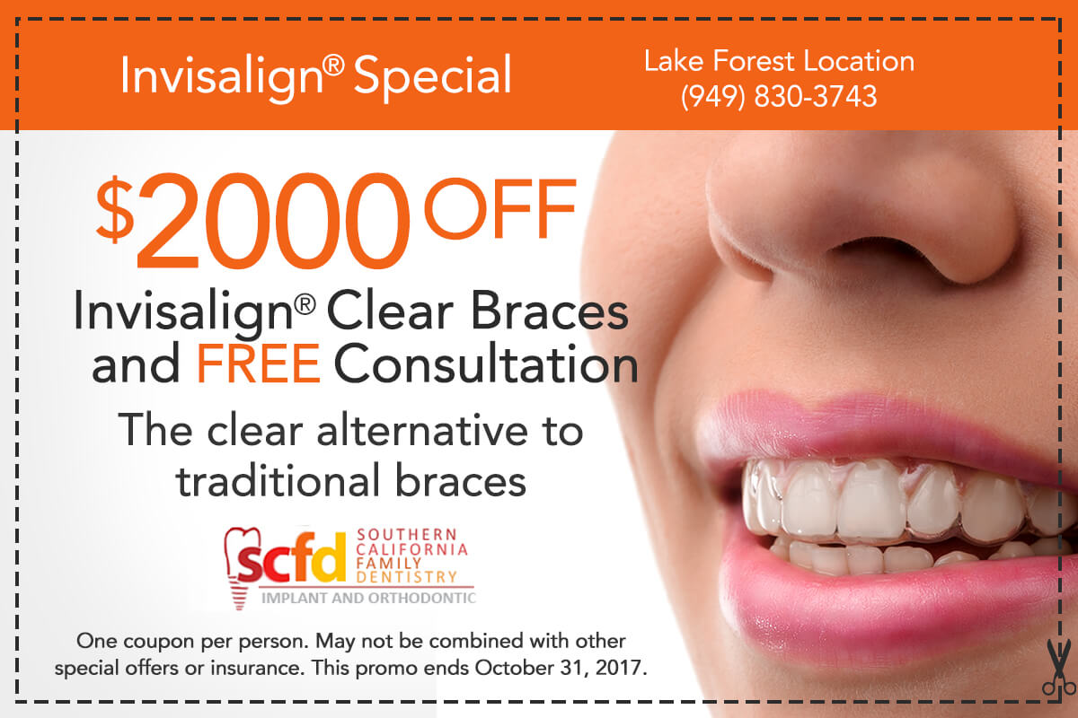 Dental Promo Lake Forest-Invisalign Special