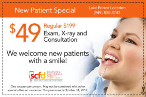 Dental Promo Lake Forest-New Patient
