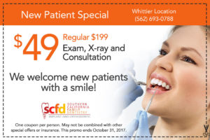 Dental Promo Whittier-New Patient
